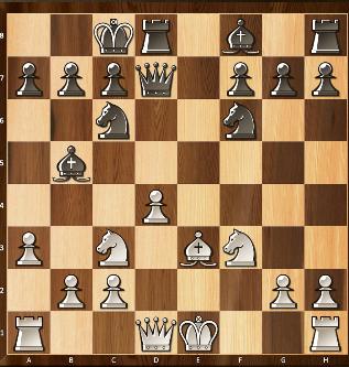 4) Ici, le petit roque est interdit aux blancs car leur roi passerait sur une case contrôlée par le fou en b5.