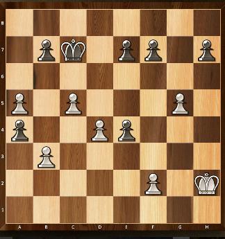 16) Quels mouvements de pion (noir ou blanc) pourraient être suivis d'une prise en passant?