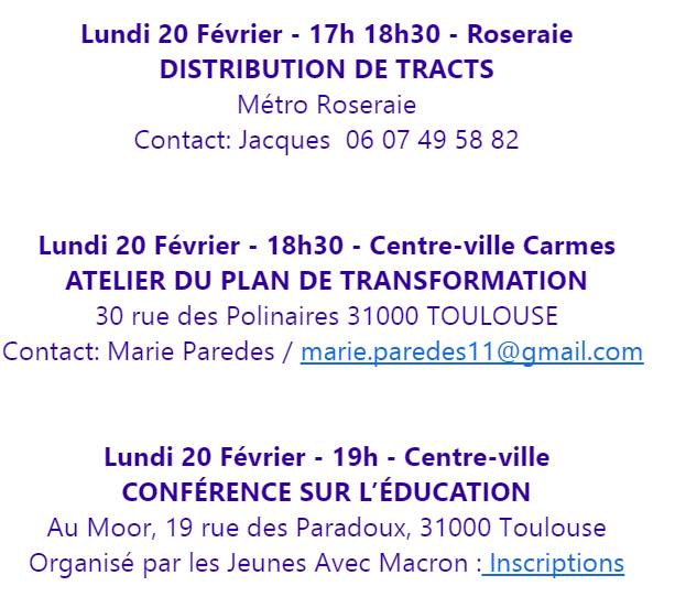 Tractage &amp&#x3B; éducation