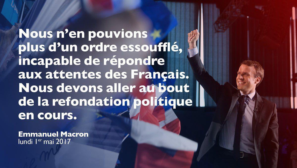 #Ensemble avec Emmanuel Macron en meeting le 1er mai à La Villette