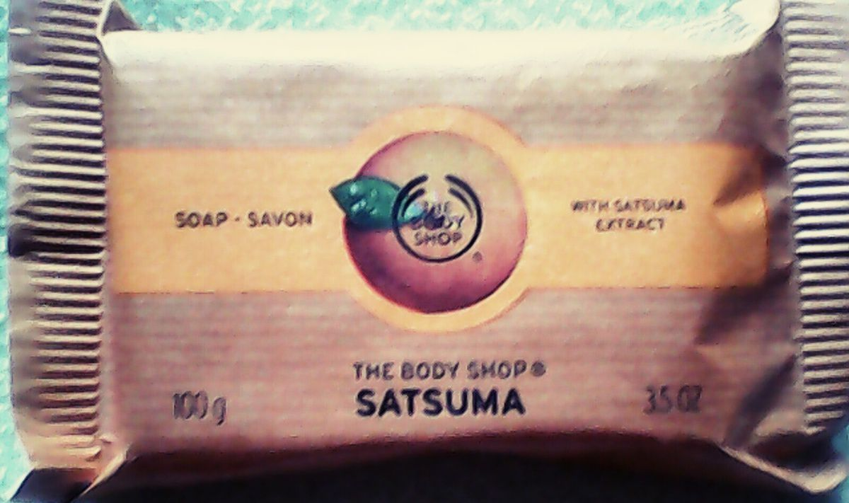 Satsuma chez The Body Shop