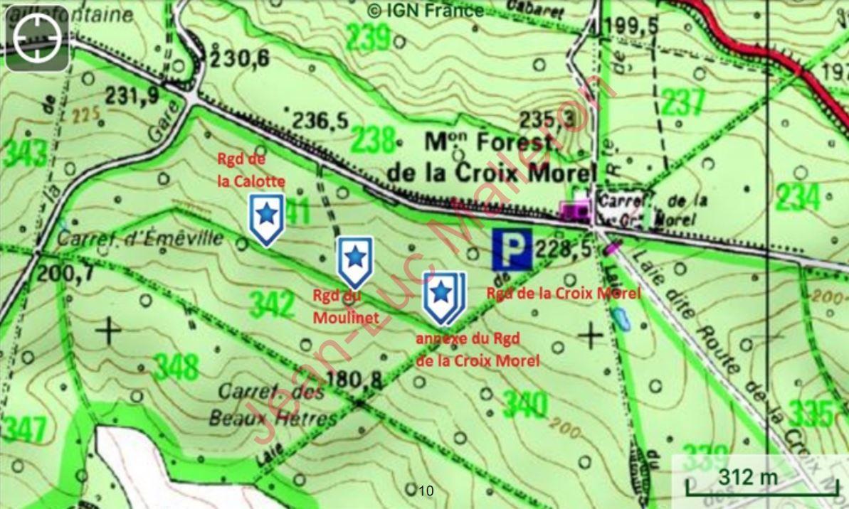Le Regard du Moulinet (laie des Pots).