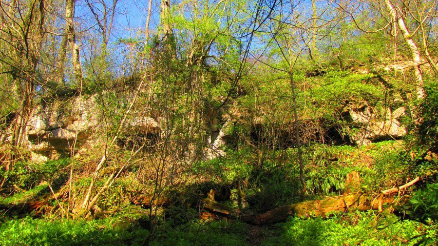 la Grotte Saint-Antoine