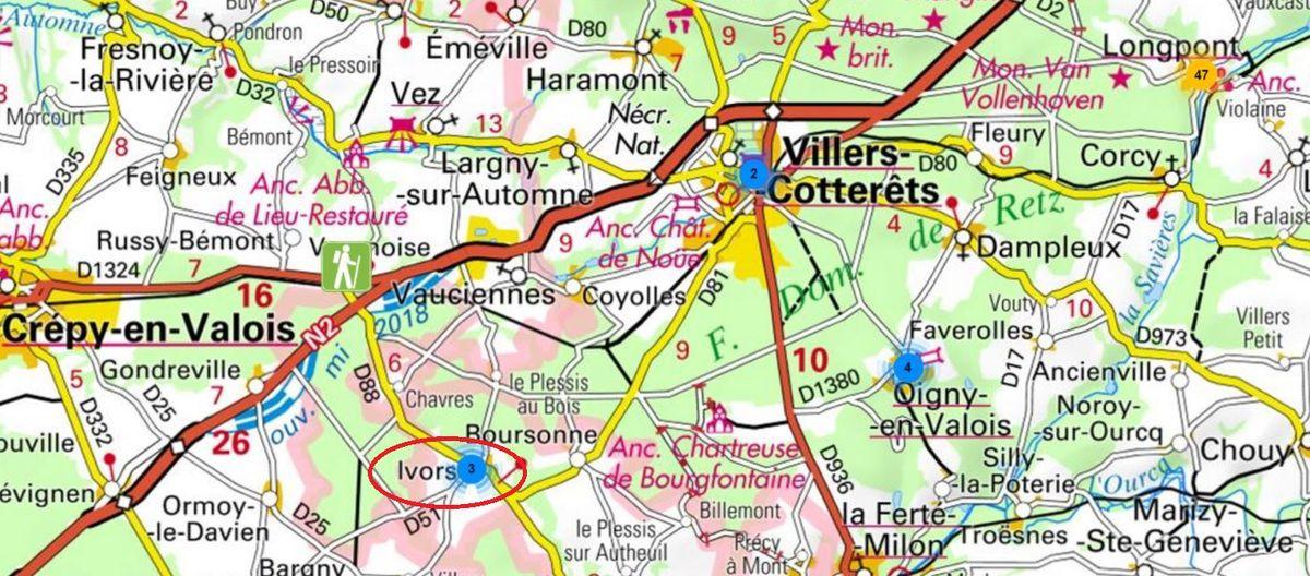 le village d'Ivors_forêt de Retz