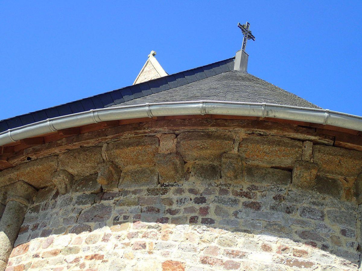 l'abside de l'église Notre-Dame