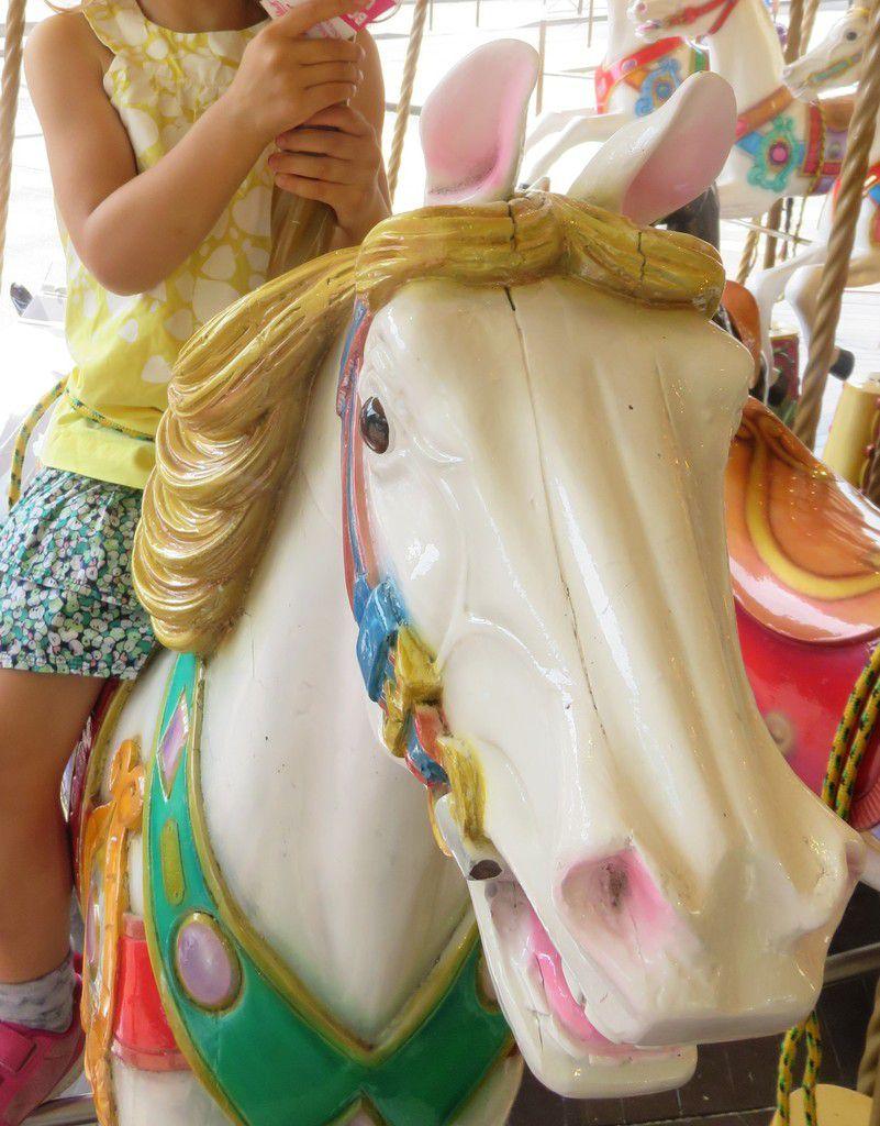 Ouf! Un petit tour en cheval tout de même!