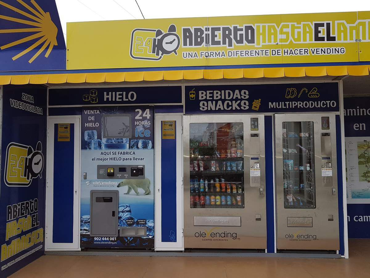 The Camino automated shop