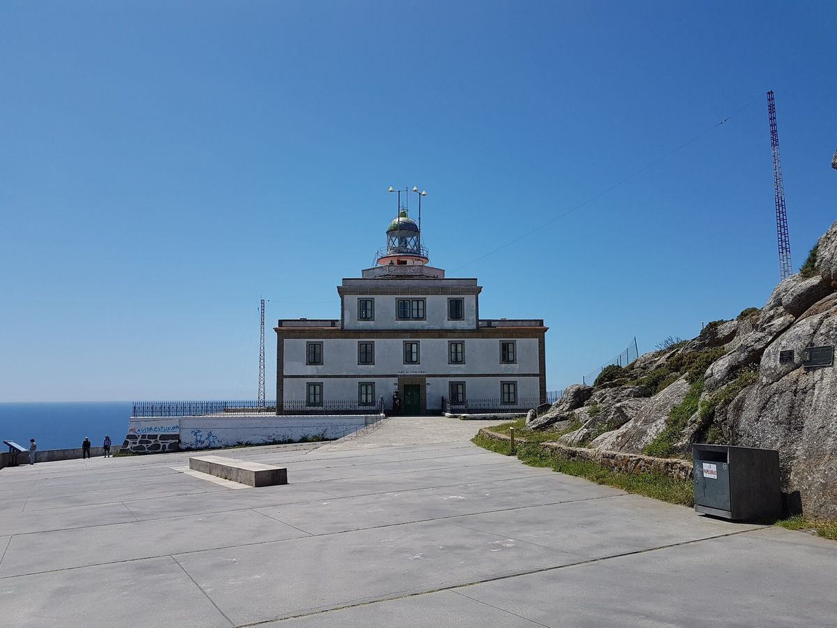 Lighthouse in Fisterra