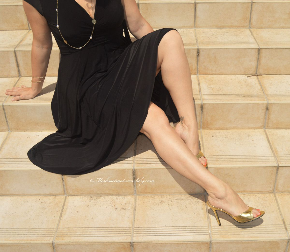 Robe TopVintage exclusive ~ Layla Cross Over Dress