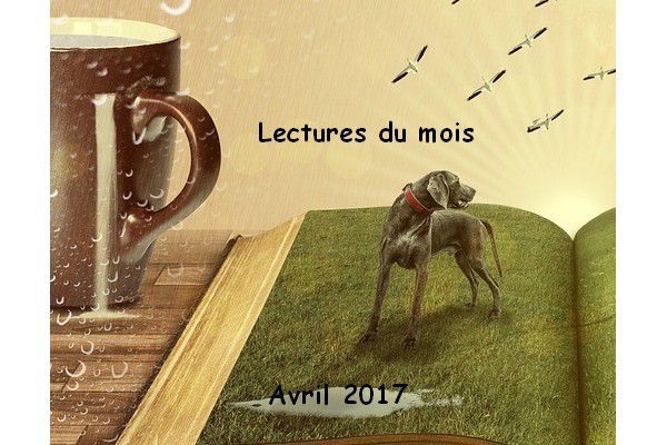 Mes lectures d'Avril 2017.