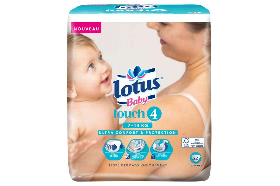COUCHE LOTUS BABY TOUCH 4