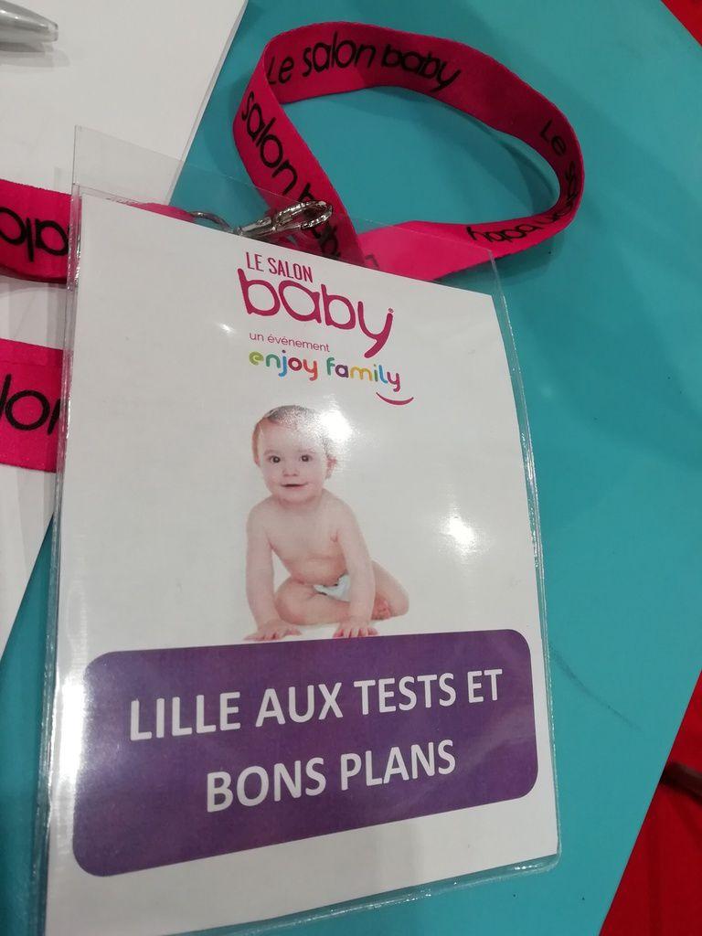 LE SALON BABY DE LILLE LE 20 ET 21 SEPTEMBRE 2018 - Lille aux tests ... e051b480b0c