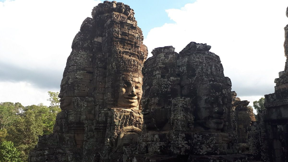 Siem Reap, complexe des temples d'Angkor