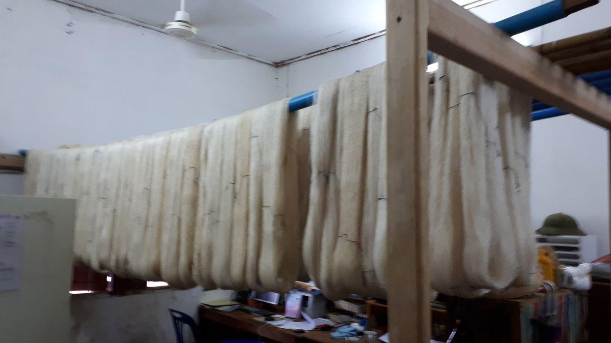 La fabrication de la soie
