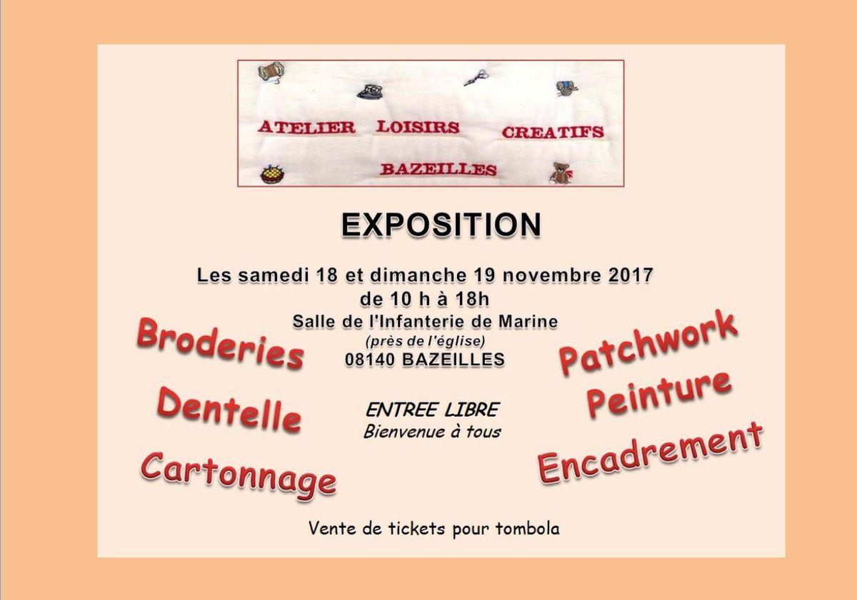 EXPOSITION à BAZEILLES (08)
