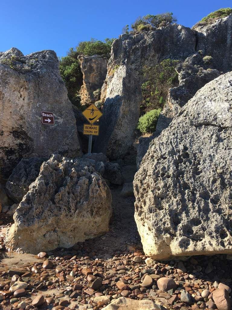Plage de Stokes Bay, un petit air de Pianottoli (Après la Bretagne, la Corse du sud)