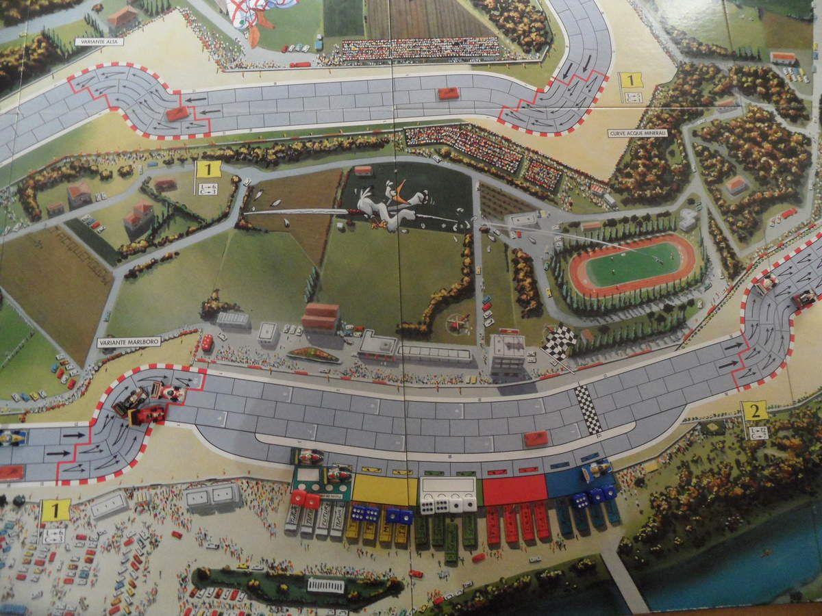 Schumacher bloqué dans les stands. Une nouvelle CAR perdue pour Berger, les Ferraris semblent fragiles aujourd'hui