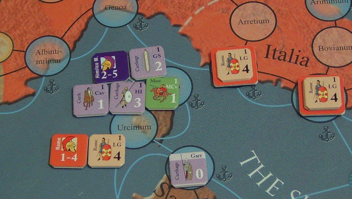 Bataille d'Urcinium, les romains sont coincés !