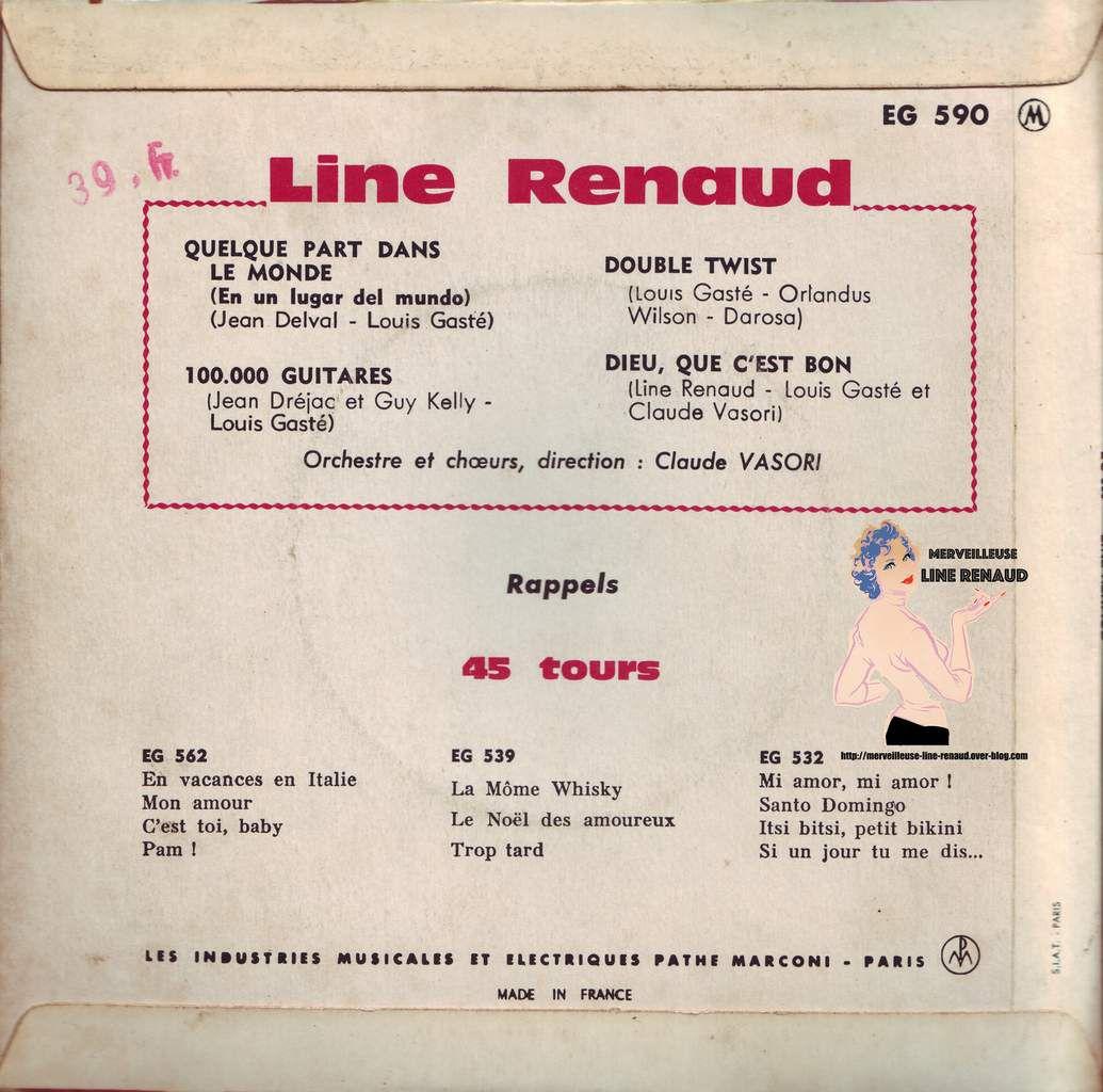 1962 Pathé (45 EG 590)