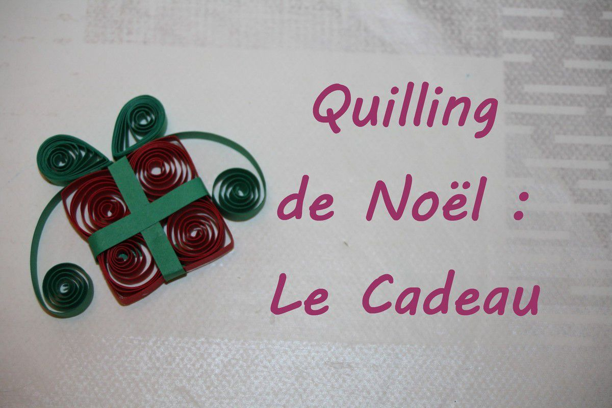 diy quilling faire un cadeau de no l cr ativez moi. Black Bedroom Furniture Sets. Home Design Ideas