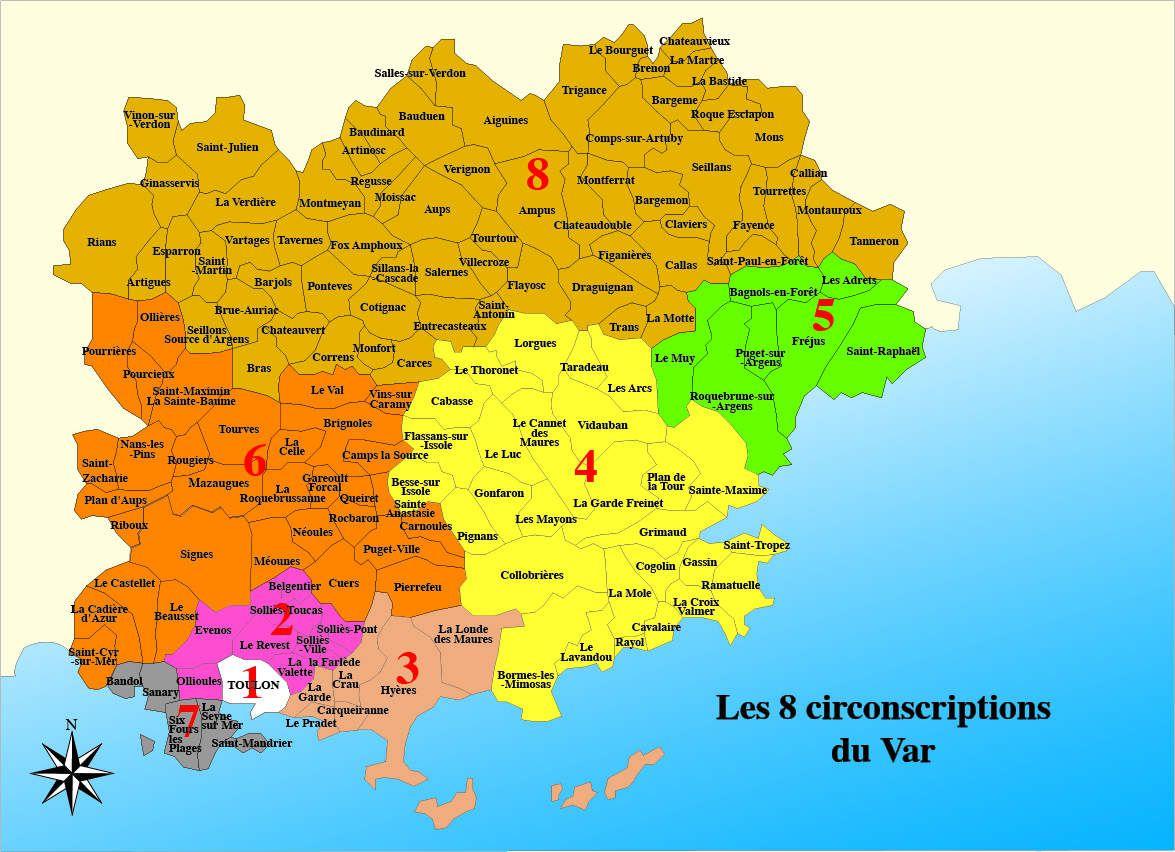 Legislatives 8 circonscription var