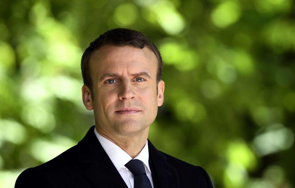 Un reportage dans le numéro spécial du 12 mai d'« Envoyé spécial » était consacré au président de la République Emmanuel Macron — Eric Feferberg/AP/SIPA
