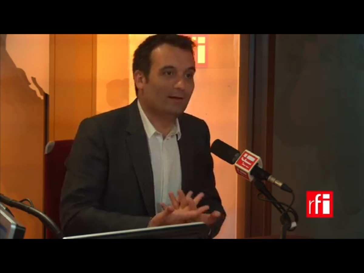 Vidéo : Florian Philippot sur RFI, concernant Trump sa décision doit être respectée