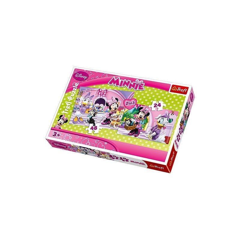 """1 pyjama reine des neiges combinaison rose 3 ans - 10€ + 1 Puzzle """"Minnie Disney 2in1"""" sont deux tailles différentes - 12€"""