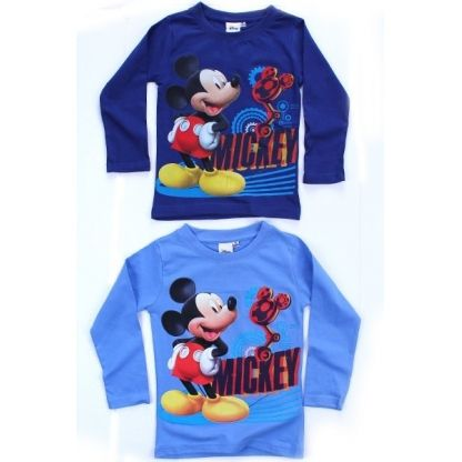 2 T-shirts Manches Longues Mickey - 1 de chaque - 3 ans - 2x7.50€=15€