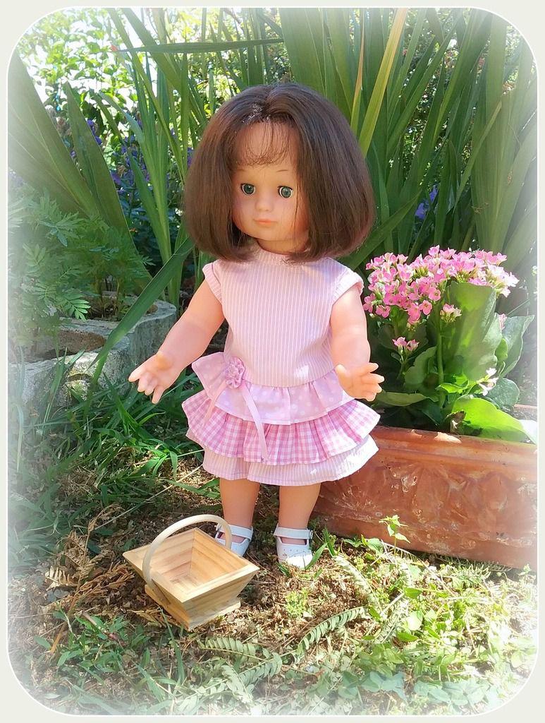 Emilie-Lise au jardin !