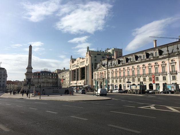 Vues sur les avenues de Lisboa