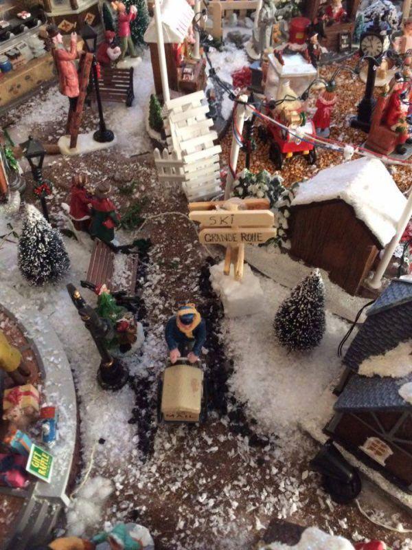 Réalisation du village de Noël 2016
