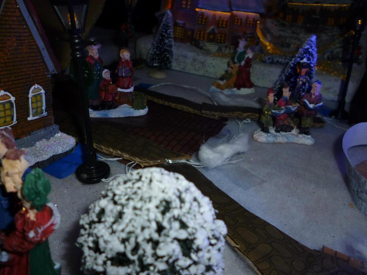Réalisation du village de Noël 2012