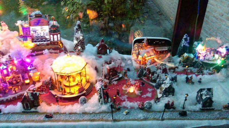 Réalisation du village de Noël 2013-2014