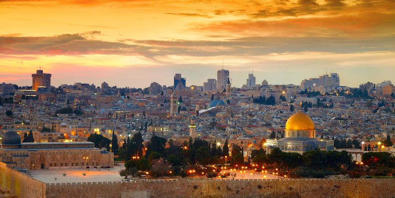 The most beautiful city of Jerusalem in the world has an indescribable history.