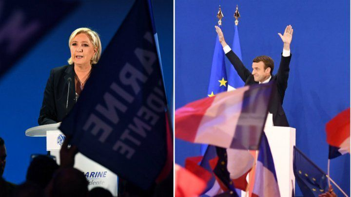 Macaron and Le Pen in the second round of presidential elections ... What a story!
