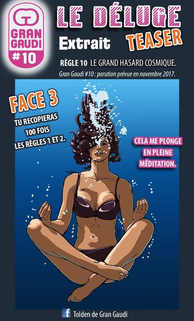 Fanzine Gran Gaudi par Tolden : B.D, humour et secte.