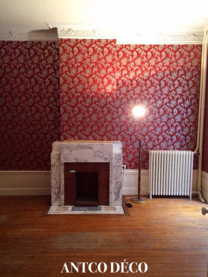 Relooking d\'une cheminée art déco avant après - Blog déco création ...