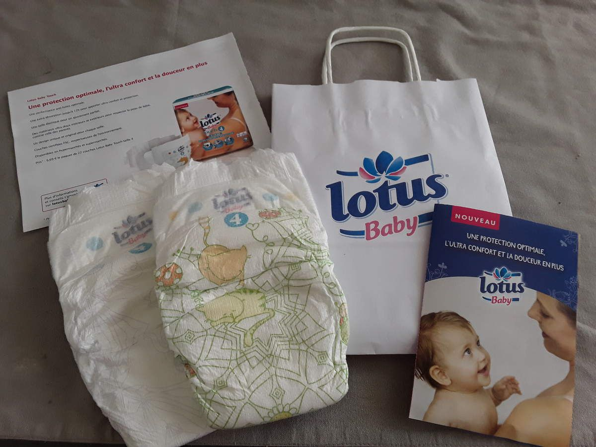 Test Couches Lotus Baby Touch Maman Qui Testeover Blogcom
