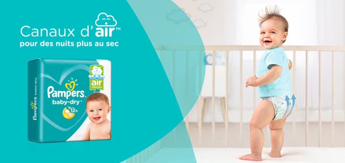 Test Des Nouvelles Couches Pampers Baby Dry Maman Qui Testeover