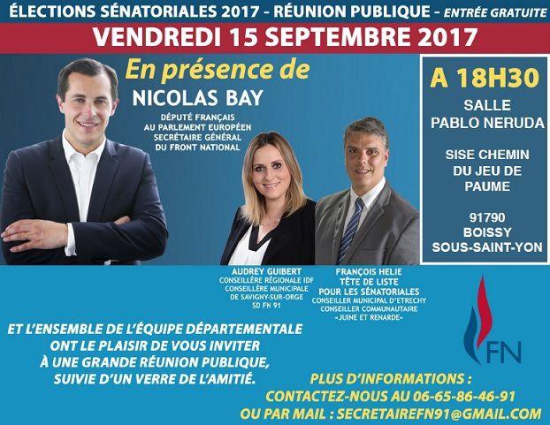 Elections Sénatoriales : François HELIE conduit la liste départementale !