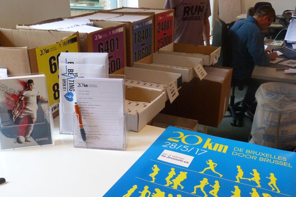 Les 20 kilomètres de Bruxelles en 20 chiffres: 30 % de femmes, 54 participants de toutes les éditions, 89 ans,...