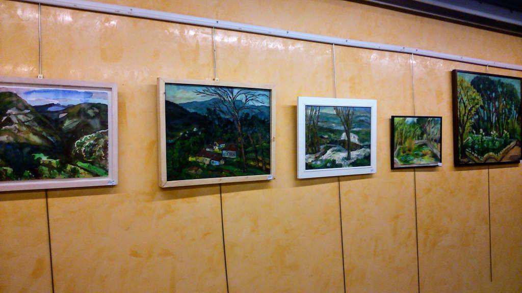 Imágenes de mi exposición individual en El Centre Civic Tomasa Cuevas de Les Corst,Barcelona 2018