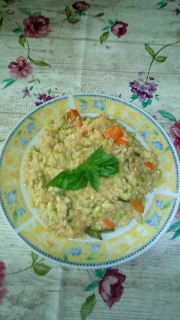 Risotto aux flageolets