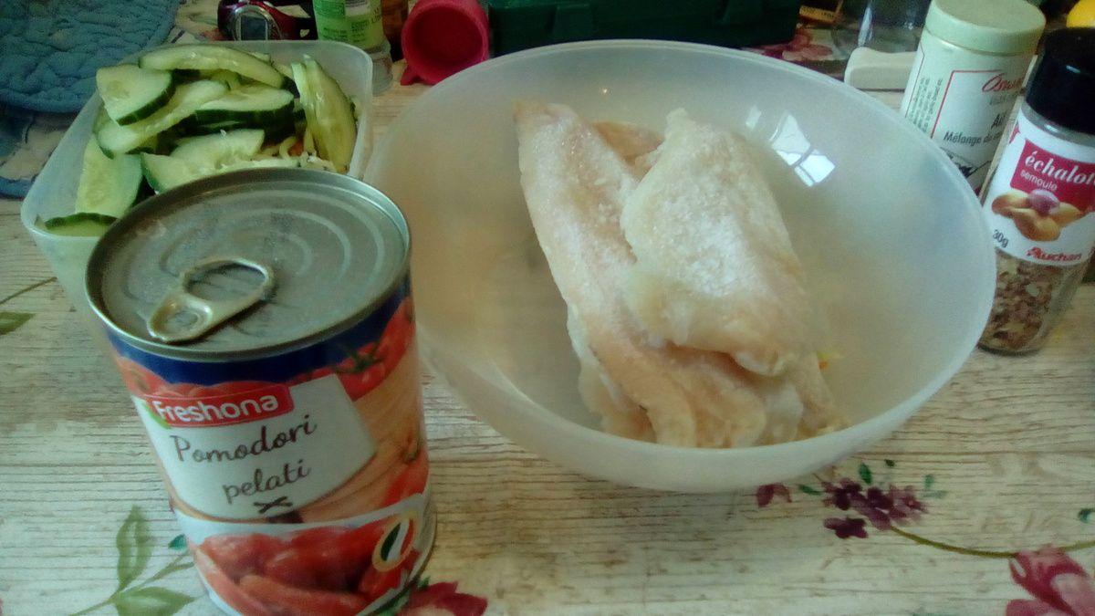 Curry bengali de poisson et légumes