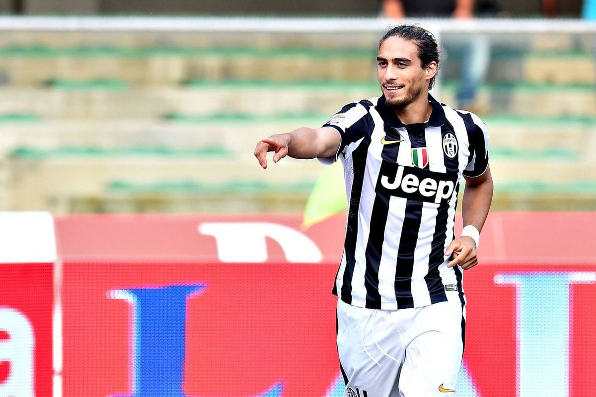 Martin Caceres ai tempi della Juventus