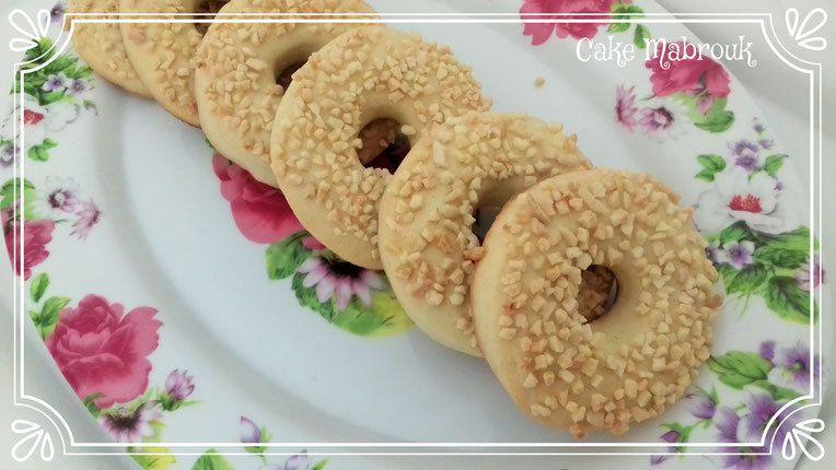 Recette Du Gateau Tabaa Gateau Sec Algerien Cake Mabrouk Recettes