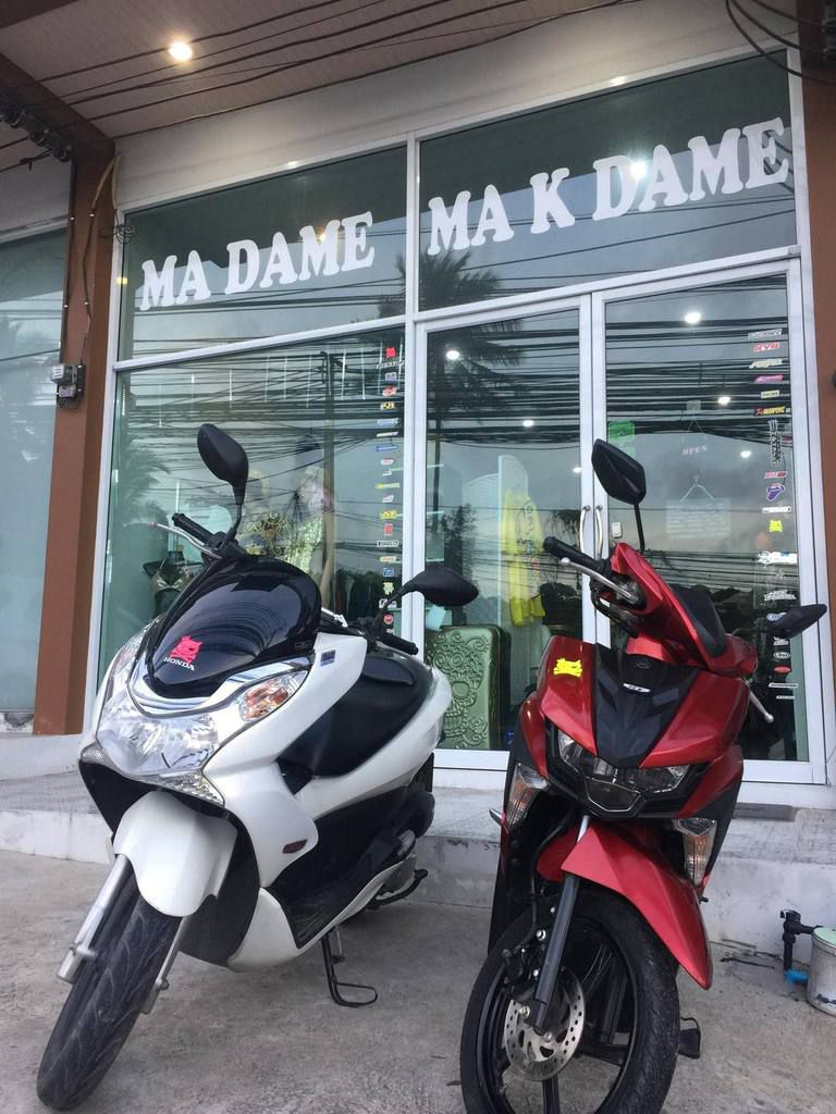 Rent a Scooter Madame & Makdame offers scooter rental