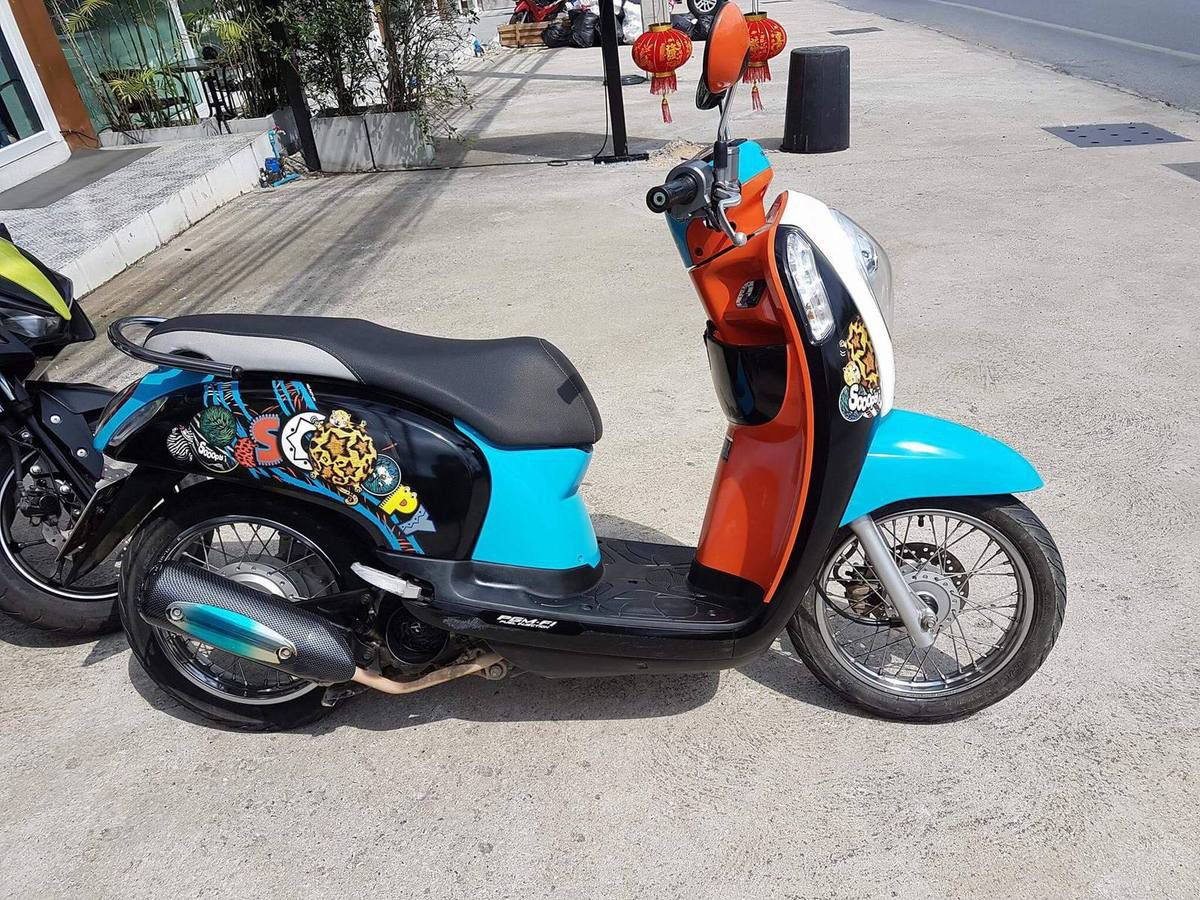 Rent motorbike Chaweng - Rental agency scooter - Rent bike