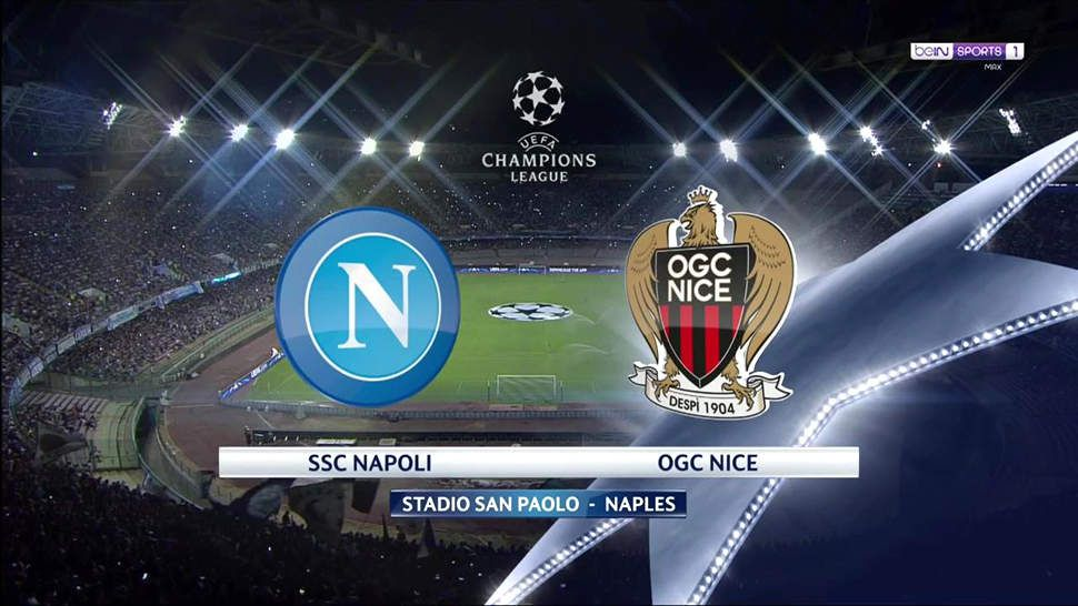 NAPLES - NICE : 1 - 0 (PlayOff - Champion's League)